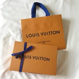 Authentic Louis Vuitton Gift box & Shopping bag